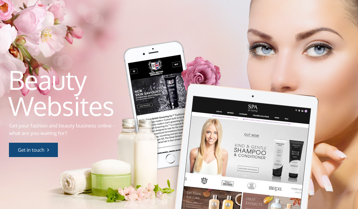 Beauty Websites Banner