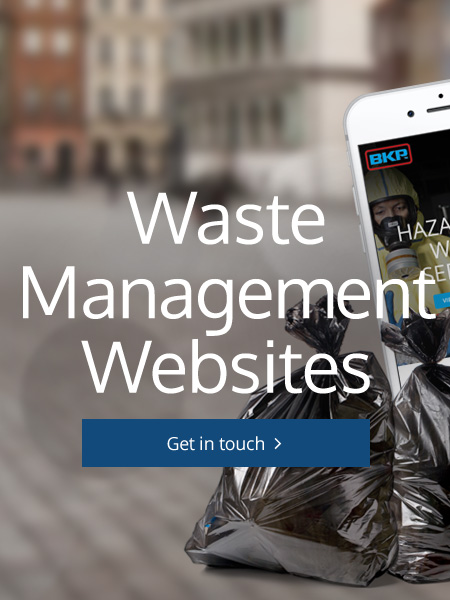 Waste Management Website Design Alnwick