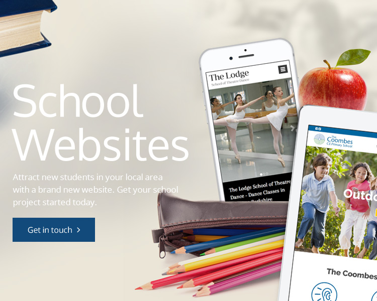 School Website Banners